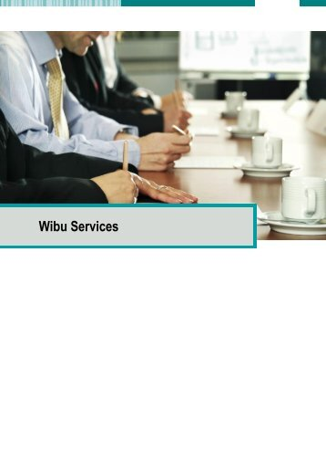 3 Wibu Support Services - wibu-systems ag