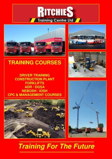 Brochure Download - Ritchies Training Centre