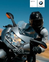 K 1200 S - Face the Power