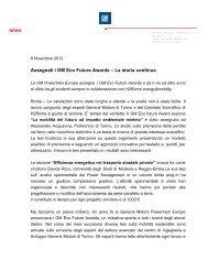 Assegnati i GM Eco Future Awards 2012 - H2Roma