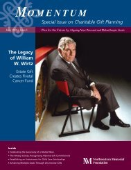 Special Issue on Charitable Gift Planning The Legacy of William W ...