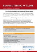 rehabilitering av äldre - Conductive - Page 2