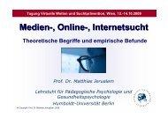Vortrag Matthias Jerusalem - Österreichische ARGE Suchtvorbeugung
