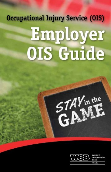 Employer OIS guide - Workers' Compensation Board
