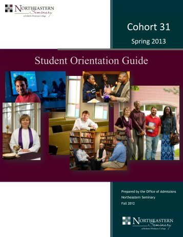 Student Orientation Guide - Northeastern Seminary