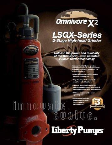LSGX200-Series Omnivore - Liberty Pumps