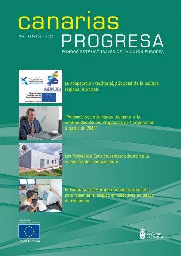 Publicidad de actuaciones de los Fondos Europeos en Canarias