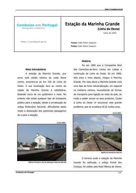 Linha do Oeste - Comboios em Portugal