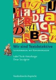 und Einführung - Vandenhoeck & Ruprecht