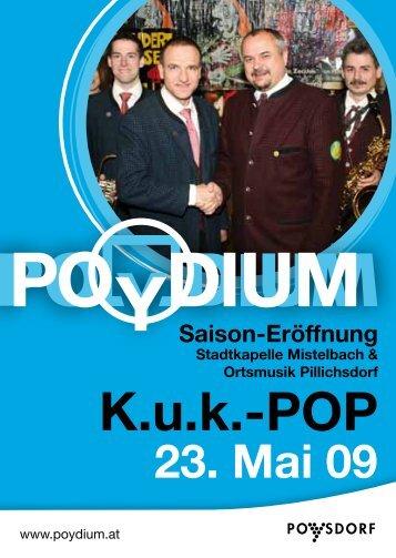 POYDIUM - Stadtkapelle Mistelbach