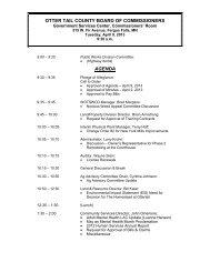 Agenda 04/09/2013 - Otter Tail County