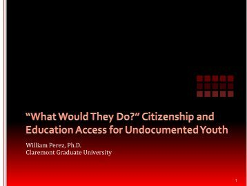 Citizenship and Education Access for Undocumented Youth