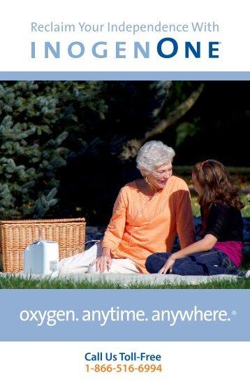 Inogen One G2 Brochure