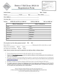 District 7 Kid Zone 2013-14 Registration Form - Edwardsville School ...