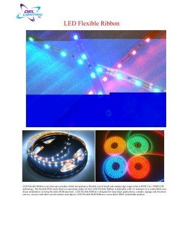 LED Flexible Ribbon - Del Lighting