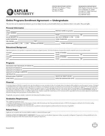 Applicationenrollment Agreement Eslefl Programs Lado