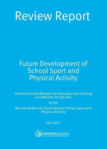 Future Development of School Sport - Education Queensland ...