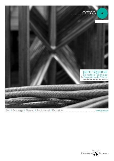 descriptif matériel / tarifs au 01/01/2013 - CMS - ORCCA