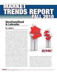 market trends fall 2010