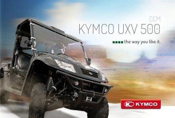 KYMCO UXV 500