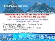 Présentation Treunau - Association Nationale des Médecins du ...
