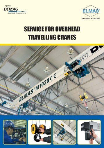 SERVICE FOR OVERHEAD TRAVELLING CRANES - Poduri rulante