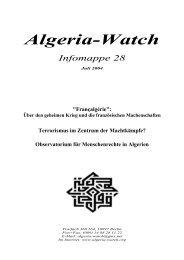 PDF-Format, 350 KB - Algeria-Watch