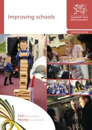 Improving schools: full plan - Learning Wales - Welsh Government