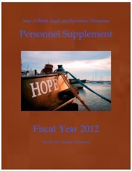 Fiscal Year 2012 - Budget Office