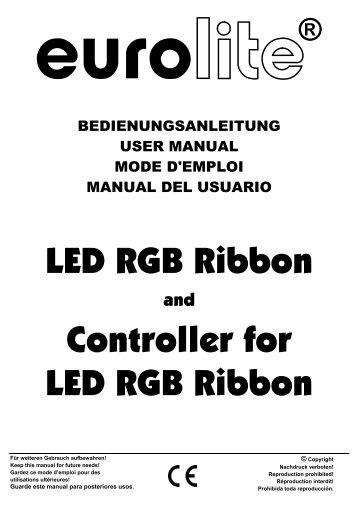 LED RGB Ribbon Controller for LED RGB Ribbon