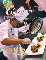 HACE 2009 HACE 2009 - Egyptian Chefs Association