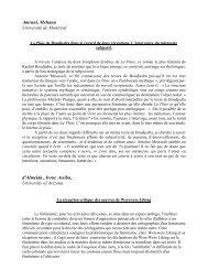 Résumé des communications (PDF)