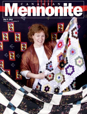 May 5, 2003 Volume 7, Number 9 - Current Issue - Canadian ...