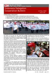 Cooperation Bulletin - Issue 108, 14 May 2007 - Climate Centre