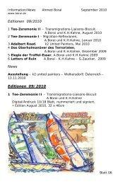 Editionen 09/2010 News Editionen 09/2010 - Künstler