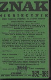 Nr 362-363, styczeń-luty 1985 - Znak