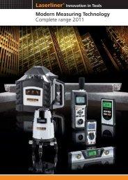 laserliner brand presentation - Spot-on.net