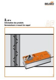 2.AF-4 Information des produits Servomoteurs à ressort de ... - Xref