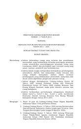 Perda Tata Ruang Wilayah 2011-2031 - Sragen