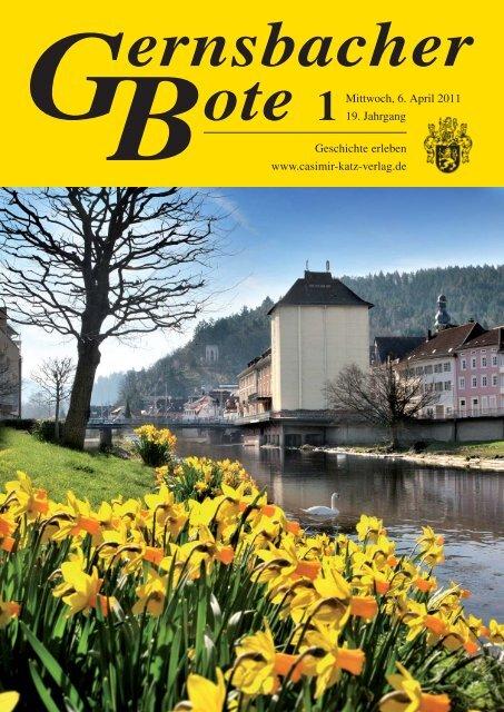 Geschichte erleben www.casimir-katz-verlag.de Mittwoch, 6. April ...