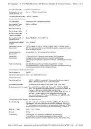 Seite 1 von 2 HP Designjet 130 Serie Spezifikationen - HP Business ...