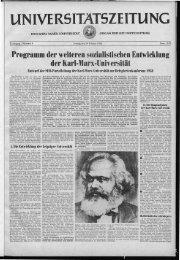 der Karl-Marx-Universität.