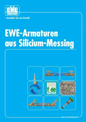 EWE-Armaturen aus Silicium-Messing
