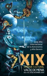 2009: Año Internacional de la Astronomía y Año Darwin
