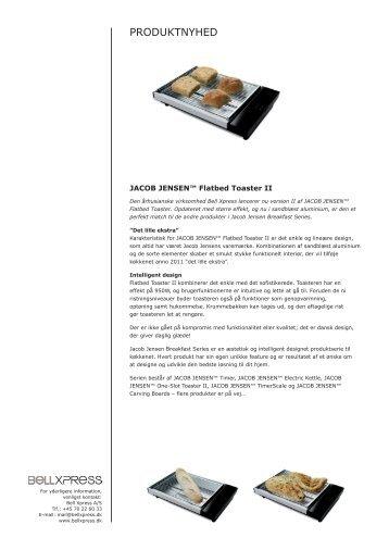 Pressemeddelelse Flatbed Toaster II - Bell Xpress
