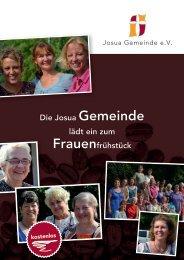 Flyer und weitere Termine - Josua Gemeinde Berlin-Spandau