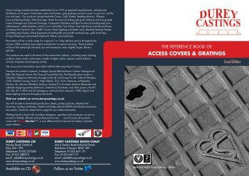 Durey Castings Catalogue