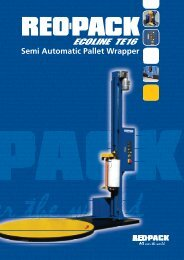 Semi automatic Pallet Wrapper - REO-PACK