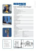 Semi automatic Pallet Wrapper - REO-PACK - Page 2