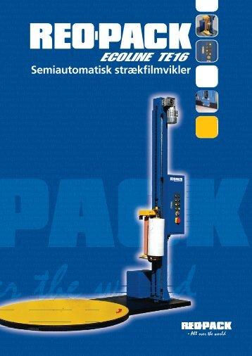Semiautomatisk strækfilmvikler - REO-PACK